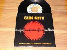 ARTISTS UNITED - SUN CITY / HOLLAND VINYL 7'' SINGLE 1985 MINT-