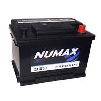NUMAX 075 Heavy Duty Car Battery 60 AH 540 A