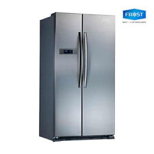 Frost Side by Side Fridge 689L Stainless Super Cooling 2019 1yr Warranty NEW