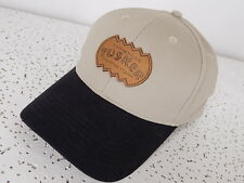 NWOT  Thompson Tusker Imported Cigars strapback cotton hat cap, leather emblem