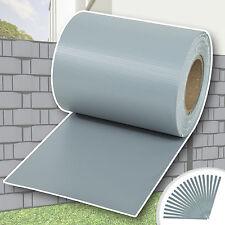 Rouleau 70m x 19cm PVC brise-vue pare-vent pour clôture terrasse jardin gris