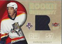 2005-06 Ultra Rookie Uniformity Jerseys #RUST Anthony Stewart Jersey - NM-MT
