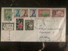 1961 Nadi Fiji Airmail Cover To Opfikon Switzerland