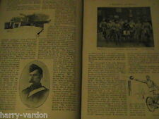 26th Middlesex Cyclist Bicycle Regiment Military Cocks Rare Antique 1891 Article