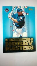 2002 Topps Hobby Masters  ALEX RODRIGUEZ HM5 Card