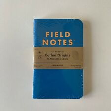 Rare Field Notes Coffee Origins Edition Note Books