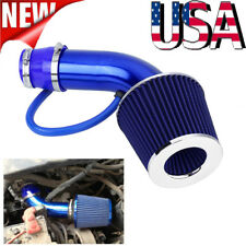 "US! Universal 76mm 3"" Car Cold Air Intake Filter Induction Kit Pipe Hose System"