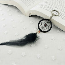 Chimes Female Jewelry Pendant Tassel Feather Dream Catcher Keychain Key Ring