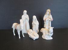 Lenox China Jewels 6 Piece Nativity Set, USA