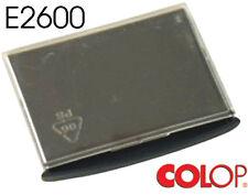 Confez. 4 pz. Tampone Colop ricambio E/2600 E/2600-BLS2 E2008/P ink nero