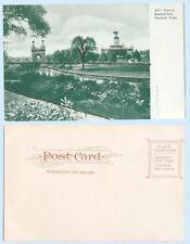 Bushnell Park Hartford Connecticut c1906 Glitter Applied Building Postcard