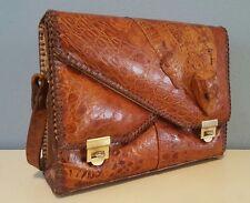 Exotic Vintage Genuine Alligator Handbag Purse Made in Florida ETCO