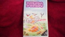 "RARE ""DUMBO"" VHS (024) THE CLASSICS WALT DISNEY BLACK DIAMOND"