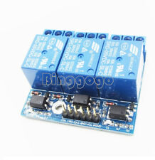 3-Channel Relay Module With Optocoupler Isolation Compatible 3.3V 5V Signal N