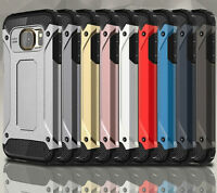 Tough Hard Armour Shock Proof Protective Case Cover Samsung Galaxy S6, S6 EDGE +
