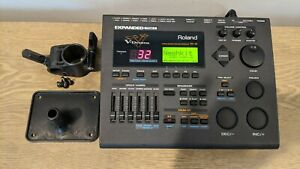 Roland TD-10 Drum Module Expanded with TDW-1 Card / with Mount / Super Clean