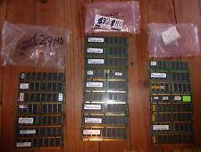 Lot de barrettes mémoire SDRAM PC100 ou PC133 pour MAC et PC