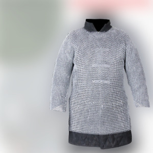 Best Gift Medieval Aluminium Butted Chainmail Shirt Armour Haubergen,Choose Size