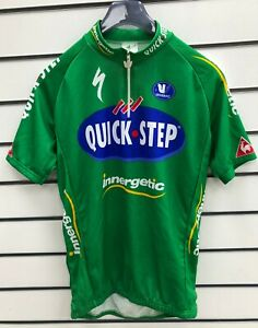 BNWT Vermarc Vintage Quick Step Tour de France Green Jersey