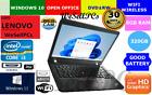 "Lenovo Thinkpad E430 14"" Windows11 (320gb, Intel Core I3 2.3ghz, 8gb Ram) Laptop"