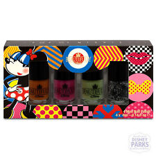 Beautifully Disney Pop of Minnie Mouse Color Mini Nail Polish Set Makeup Parks