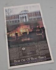 Fire Disaster - RUFFNER HALL - FARMVILLE, VA Longwood Univ 2005 Special Edition