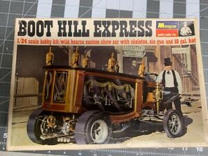 Monogram, Boot Hill Express Model- 1967 (Frist Release Edition)For Parts