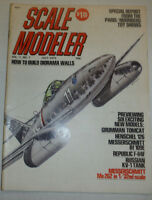 Scale Modeler Magazine How To Build Diorama Walls July 1972 040915R