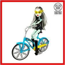 Monster High Boltin Bicycle Frankie Stein Doll w Bike Play Set Mattel Toys