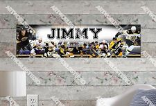 Personalized/Customized Boston Bruins Name Poster Wall Art Decoration Banner