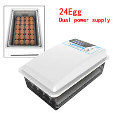 24 Eggs Auto-Turning Egg Incubator For Hatching Bird, Chicken, Pigeon, Duck Egg