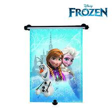 Disney Frozen Princesa Elsa Persiana enrollable ventana de coche parasol bloque UV para niñas