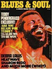 Teddy Pendergrass Blues & Soul 329 1981  Debra Laws  Johnnie Wilder  Sharon Redd