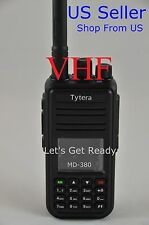 TYT MD380 VHF DMR Digital DMR Radio + USB cable + Software US Seller