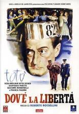 Dvd DOVE LA LIBERTA' - (1954) ***Roberto Rossellini'*** ......NUOVO