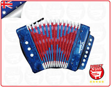 Kids Accordion Educational Musical Instrument Small 7 Treble 2 Bass Notes MA-218