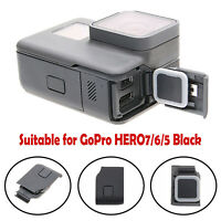 For GoPro HERO 7/6/5 Camera Side Door USB HDMI-compatible Port Charging Cover