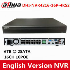 Dahua Upgradable DHI-NVR4216-16P-4KS2 16CH 16 POE Network NVR with 2 SATA H.265