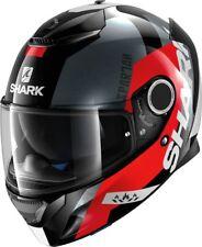 SHARK Integralhelm SPARTAN APICS schwarz rot grau Gr.L NEU von BikerWorld
