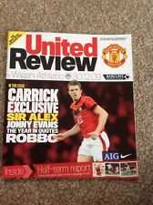 Manchester United v Wigan Athletic 30.12.09 MINT