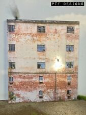 G Scale Scratch Built Industrial #7 Factory Building LED Front/Flat, MTH LGB