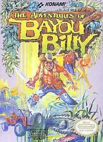 The Adventures Of Bayou Billy For Nintendo NES Vintage 8E
