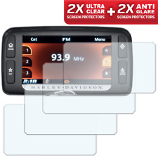 4 x HARLEY DAVIDSON Boom Box 6.5GT Sat Nav / Infotainment Screen Protector