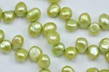 Perline sfuse di gemma verde