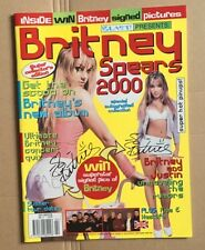 BRITNEY SPEARS Original 2000 Magazine