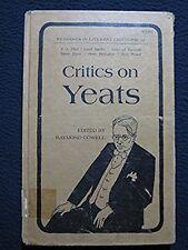Critics on Yeats (Readings in literary criticism, 10) [Jun 01, 1971] Cowell, R..