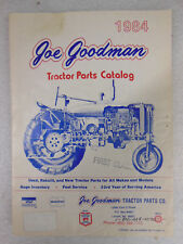 TRACTOR PARTS CATALOG Joe Goodman 1984 - Case Ford Farmall MF Oliver Cockshutt
