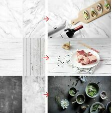 3pcs Photo Background Paper Double Side Backdrop for Food Product Photography