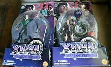 Toy Biz Xena Warrior Princess AUTOLYCUS & VELASCA Action Figures MOC 1998