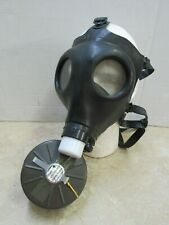 Israeli Gas Mask Civilian Model 4 w/ Filter New Old Stock Medium Shalon Chemical